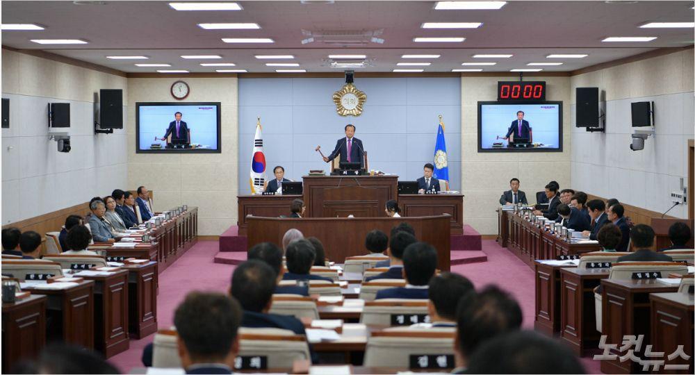 청주시의회 21~25일까지 제47회 임시회 개회