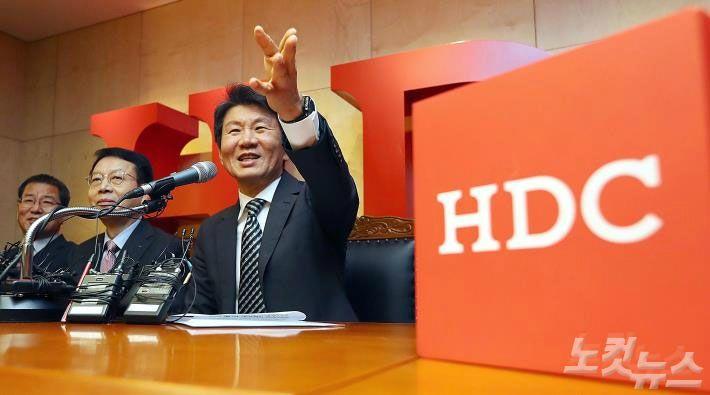 아시아나 품은 HDC, '날개' 마크 떼고 새 로고 단다