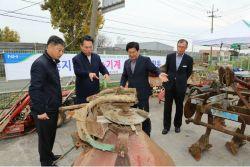 농협충남지역본부, 보령서 폐농기계 수거 봉사활동