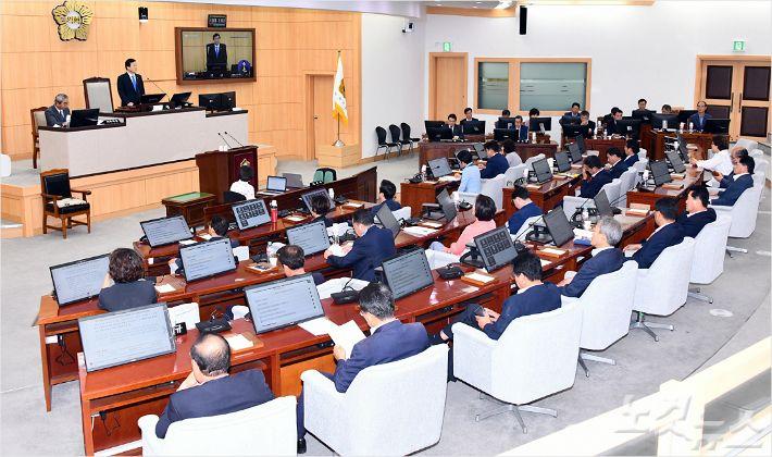 여수시, 상포지구 도시계획수립 연장 거부..법적대응 검토