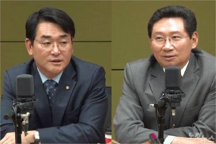 """""""심재철, 군계일'닭'"""" VS """"문희상, 불리하면 꼭 병원행"""""""