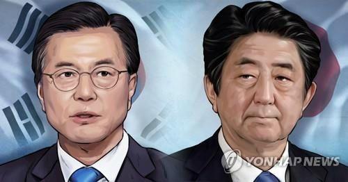 """문 대통령, 아베 총리와 24일 정상회담…""""정상 만나면 진전있기 마련"""""""