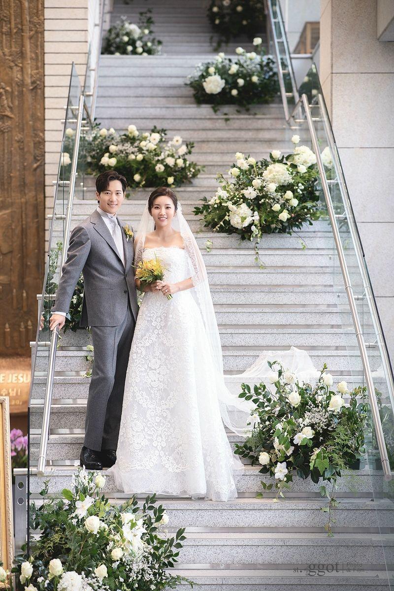[화보] 이완♥이보미 결혼하던 날