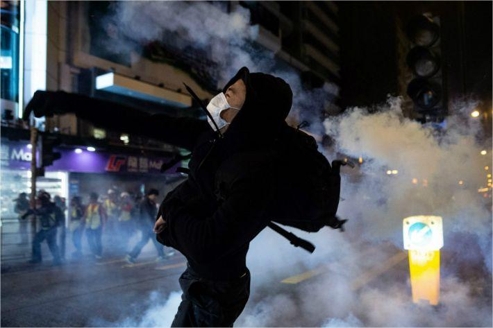 '홍콩시위' 새해에도 계속된다…첫 공식집회 1일 오후 열려