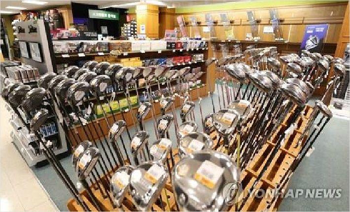 골프용품은 '노 재팬' 무풍지대…일본제 수입 감소 '미미'