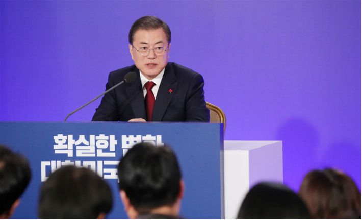 文, 인사회-신년사-회견…집권 후반기 국정운영 동력 고삐죈다