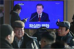 """[노컷브이] 文 신년 기자회견 """"北비핵화 조치시 상응하는 국제제재 완화 필요"""""""
