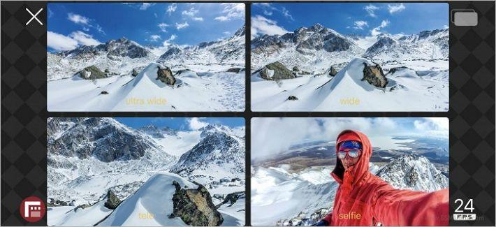 '더블테이크' 아이폰 하나로 최대 4개 카메라 동시촬영