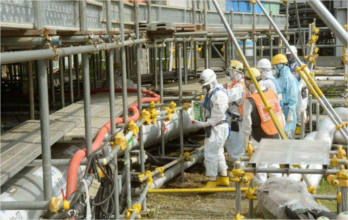 日, 후쿠시마 원전 작업자 또 내부 피폭 당해