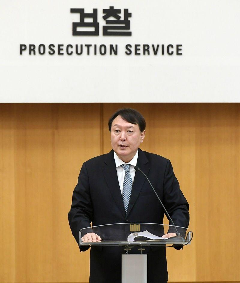 """광주 간 윤석열 """"사법개혁에 맞게 수사 시스템 변화"""""""