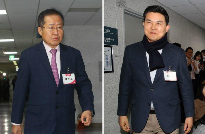 통합당 PK 피의 목요일…홍준표·김태호 날렸다 - 노컷뉴스