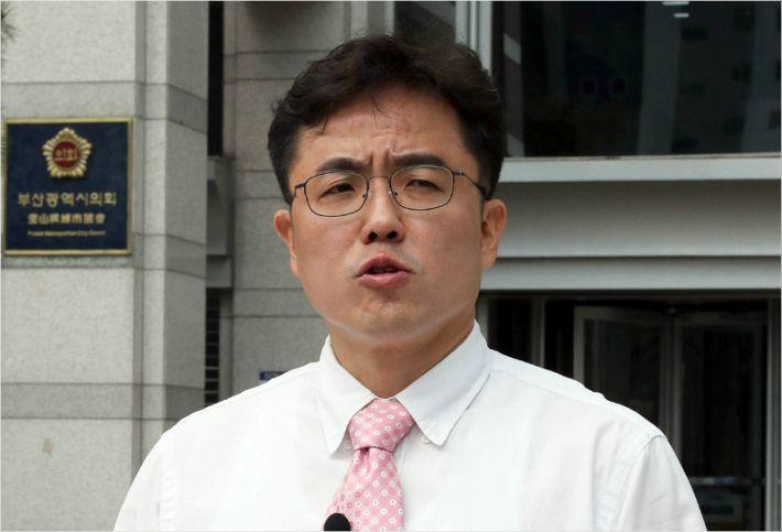 [단독]'공천 무효' 김원성 탈당…통합당 11인 지도체제로