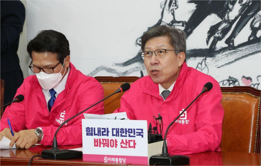 """박형준 """"與 비례정당, 조국본당과 조국잔당의 합"""""""
