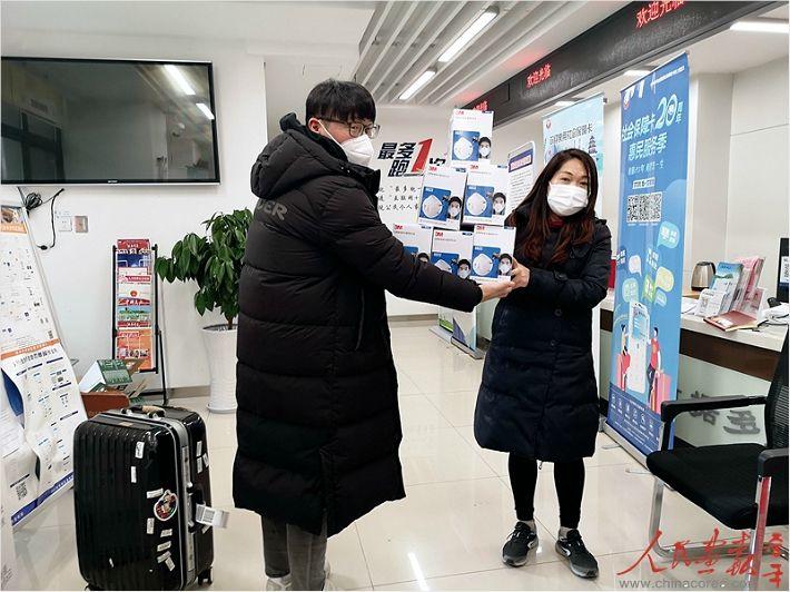 중국 찾아 '코로나 퇴치' 자원봉사하는 한국인