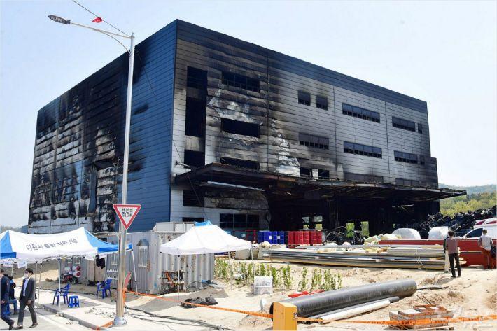 경찰 이천 화재 원인 찾기 위한 수사에 속도 노컷뉴스