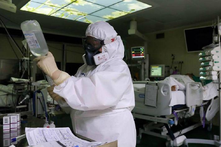 러시아,코로나19 확진자 35만명 넘어…세계 3위 규모