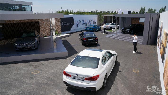 [레알시승기]BMW 5·6시리즈 페이스리프트 모델, 한국서 최초 공개