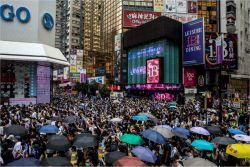 홍콩인 4명중 1명만 중국이 만드는 홍콩보안법에 찬성