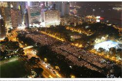 홍콩경찰 코로나 핑계로 천안문시위 기념집회 금지…30년만에 처음