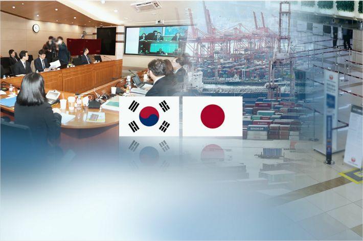 """일본 정부 """"당국간 대화 도중 한국의 WTO 분쟁 절차 재개 유감"""""""