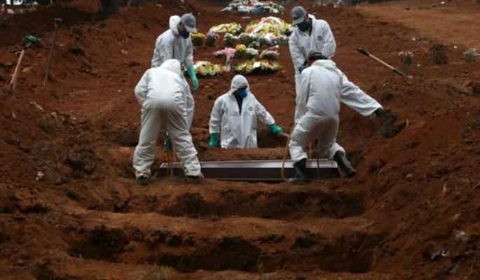 브라질,코로나19 사망자 세계 3번째…감염자 60만명 초과