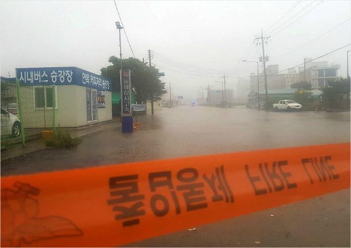 폭우 쏟아지는데…강릉 연곡면서 지적장애 20대男 이틀째 실종