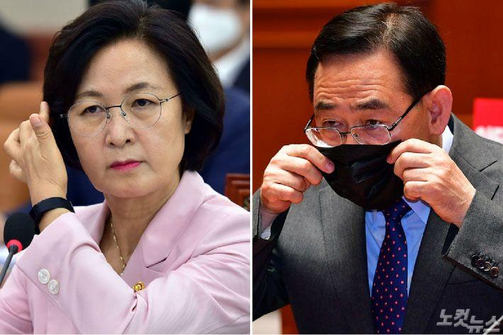 """주호영 """"추미애 '광기'흐른다…탄핵소추까지 논의"""""""