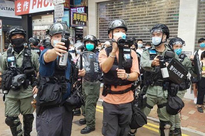 홍콩 경찰국가 되나…영장없이 압수수색, 도청·미행도 가능