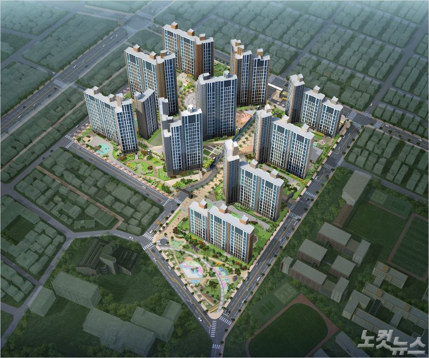 반도건설, 서대구역 반도유보라 센텀 견본주택 공개