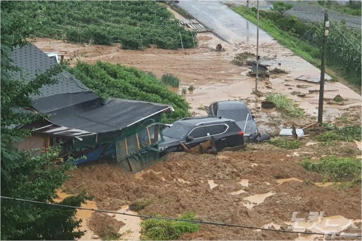 충북 폭우로 441건 피해...이재민 192가구 473명