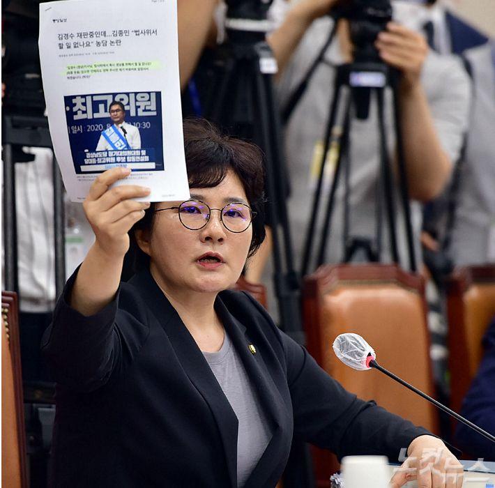 [딥뉴스]통합당 조수진 의원은 왜 보도 부문 심의를 빼려 할까