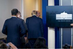 [속보]백악관서 총격사건, 트럼프 브리핑 중단(종합)