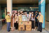 한동글로벌학교, 포항북구보건소에 커피머신 기증