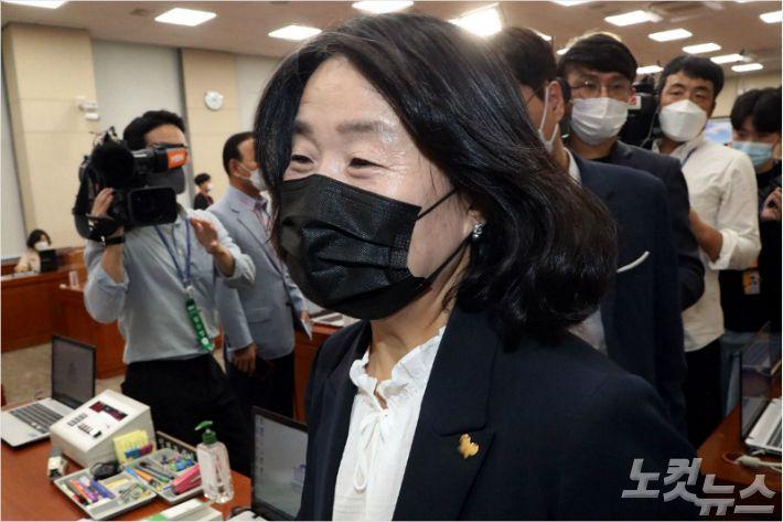 '후원금 횡령' 혐의 윤미향 10월 26일 첫 재판