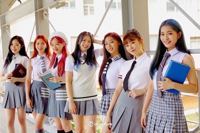 청량하고 사랑스럽게…시그니처, 신곡 '아리송'으로 컴백