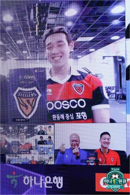 '축구'와 '얼굴'…송민규·정승원의 감출 수 없는 자신감