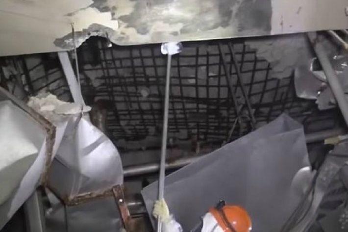 日후쿠시마 원전 폭발 3호기 4층 영상 공개