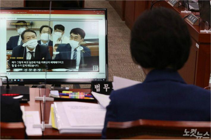 [영상]秋尹·라임·옵티머스…민생은 없고 정쟁만 남긴 21대 첫 국감