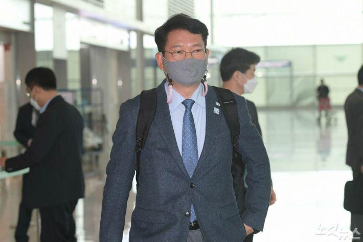 """민주당 송영길 """"김해신공항 백지화는 가덕신공항으로 이어져야"""""""