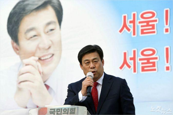 """김선동 """"부동산은 반드시 해결할 것""""…서울시장 출마"""