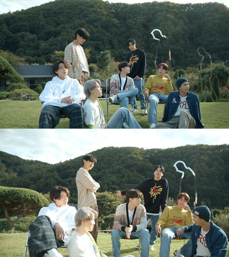 방에서 숲으로, BTS '라이프 고즈 온' 새 MV 공개