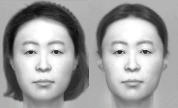 아라뱃길 훼손 시신 복원 얼굴 사진 공개…30~40대女  추정