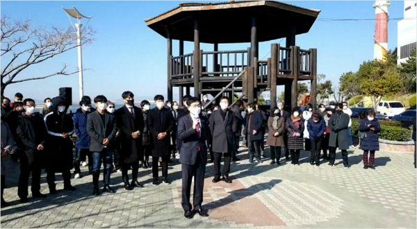 """국민의힘 유재중 """"부산의 새 판을 짜겠다"""" 시장 보선 출사표"""