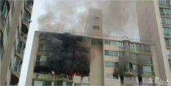 군포 아파트서 추락사망 2명은 리모델링 노동자