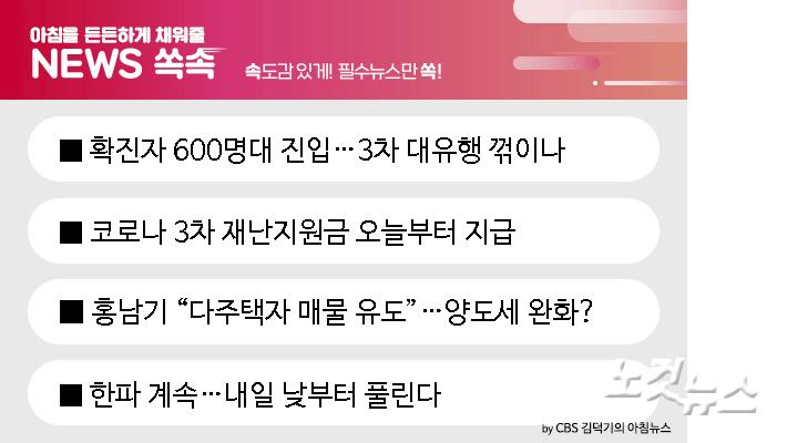 """[뉴스쏙:속]홍남기 """"다주택자 매물 유도""""…양도세 완화?"""