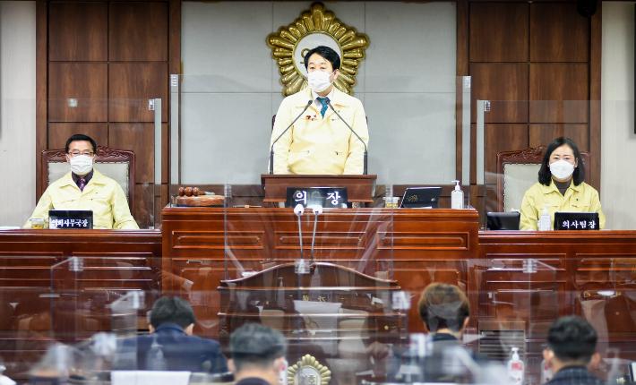 순천시의회 올 첫 임시회 돌입…재난지원금 등 심의