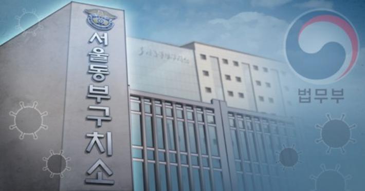 """""""구치소 집단감염 3명 사망, 진상조사 하라""""…인권위 진정"""