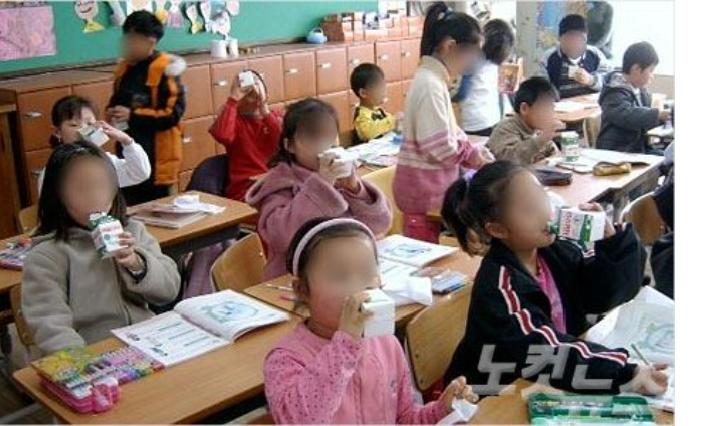 전남교육청, 초등학교 전체 '무상 우유급식' 실시