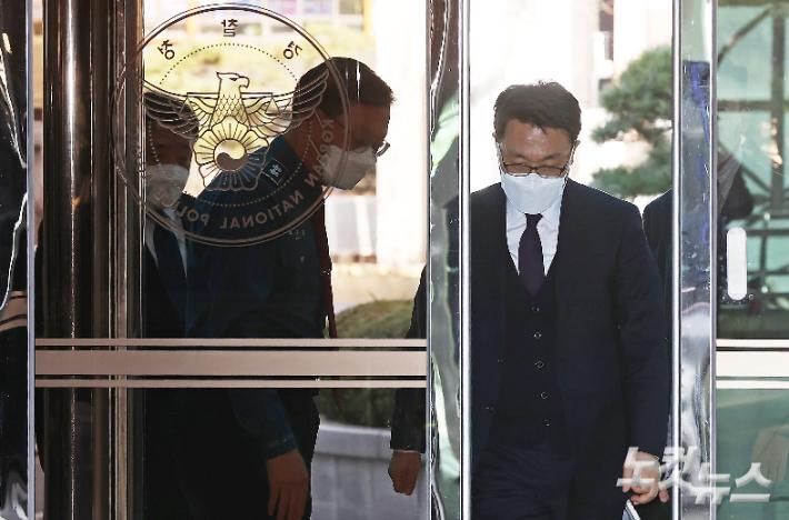 """경찰청장 만난 김진욱 """"협력과 견제 필요…수사 언급 안해""""(종합)"""