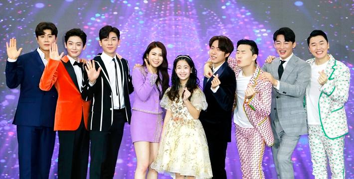 """KBS2 '뮤직뱅크' 측 """"트롯 전국체전 톱8, 출연 계획 없었다"""""""
